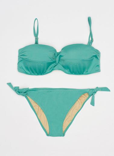 Katia & Bony Straplez Kadın Bikini Seti  Yeşil